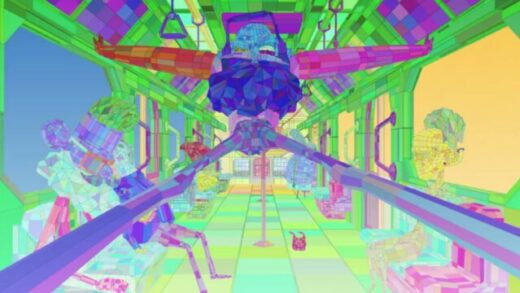 Commuter Glitch. Cortometraje experimental de animación