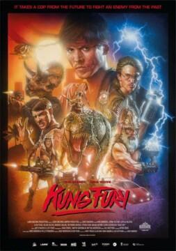 Cuenta la historia de un policía renegado (llamado Kung Fury) que persigue a su archienemigo (Hitler) a través del tiempo. Comedia de acción que rinde homenaje al cine ochentero. Incluye dinosaurios, nazis, vikingos y robots. (FILMAFFINITY)