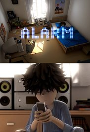 Alarm cortometraje cartel