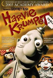 Harvie Krumpet cortometraje cartel