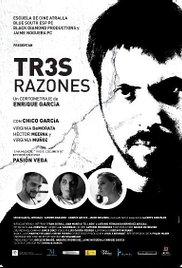 Tres razones cortometraje cartel