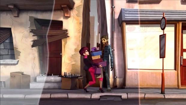 Bus Stop. Cortometraje francés de animación realizado el año 2010