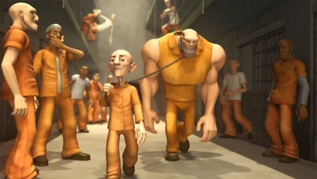 Jungle Jail. Cortometraje de animación dirigido por Stepaschka