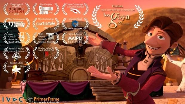 El Vendedor de Humo. Cortometraje de animación español