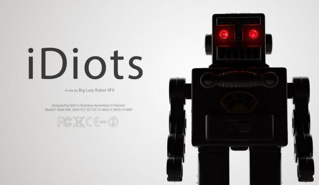 iDiots. Cortometraje online de animación sobre Apple y la tecnología
