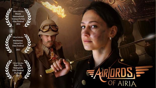 Airlords of Airia. Cortometraje alemán steampunk de Dirk Müler