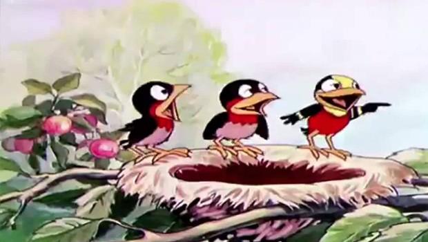 Silly Symphonies 34/75: Birds in the Spring. Cortometraje de animación