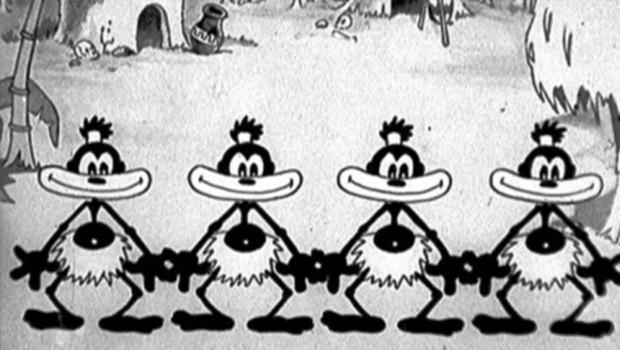 Silly Symphonies 08/75: Cannibal Capers. Cortometraje de Walt Disney