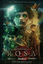 Rosa cortometraje cartel