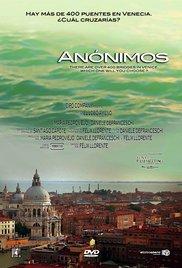 Anónimos cortometraje cartel