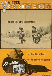Amblin' cortometraje cartel