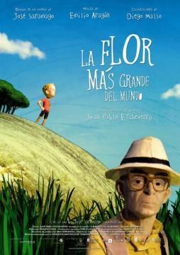 La flor más grande del mundo cortometraje cartel poster