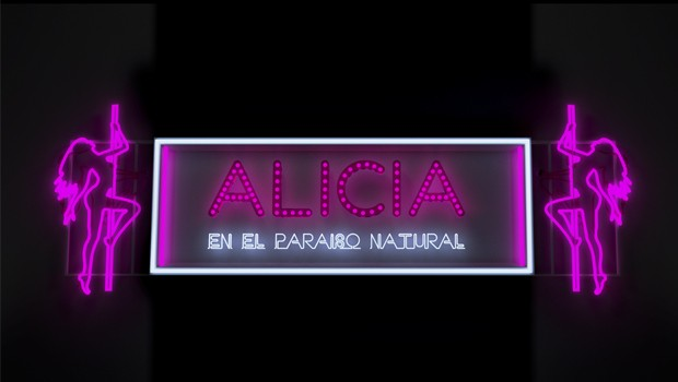 Alicia en el Paraiso Natural. Cortometraje español de Manuel Arango