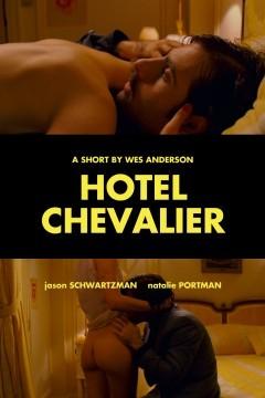 Hotel Chevalier cortometraje cartel