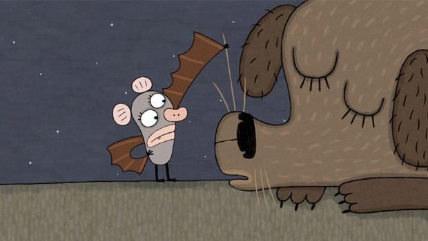 Bat Time. Cortometraje alemán infantil de animación de Elena Walf