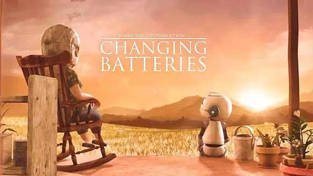 Cambio de pilas - Changing Batteries. Cortometraje de animación