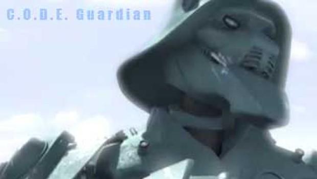 Code Guardian. Cortometraje de animación italiano de Marco Spitoni