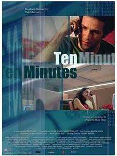 Diez minutos cortometraje cartel