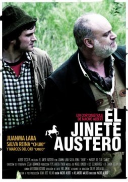 El jinete austero cortometraje cartel