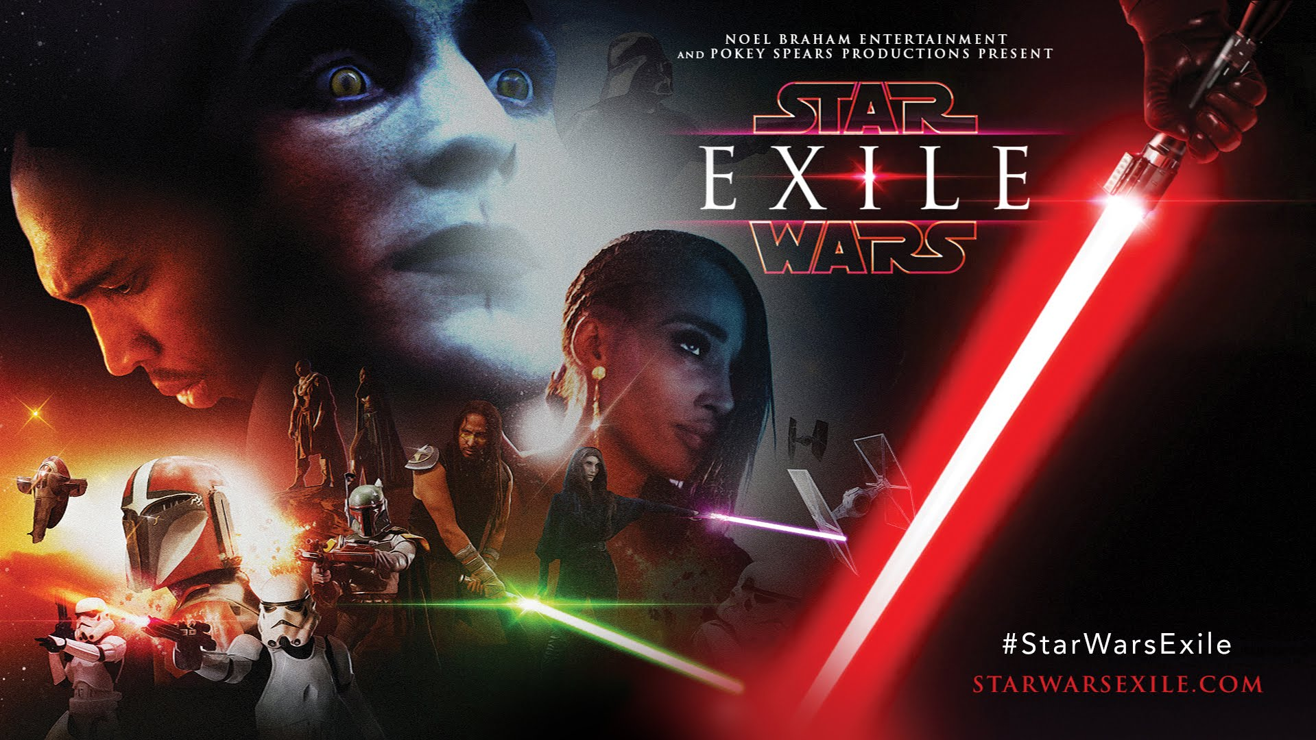Exile: A Star Wars Fan Film - Cortometraje de Star Wars