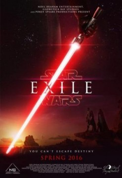 Exile A Star Wars Fan Film cortometraje cartel