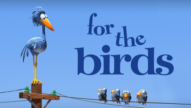 For the birds – Pajaritos. Cortometraje online de animación de Pixar