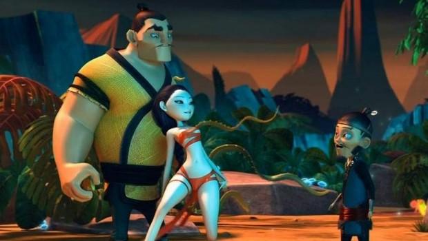Fox Tale. Cortometraje francés de animación y artes marciales