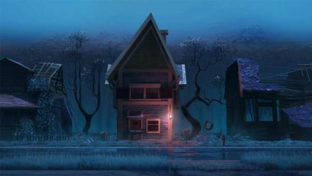 Home sweet home. Cortometraje de animación