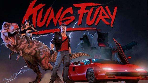 Kung Fury. Cortometraje sueco de artes marciales de David Sandberg