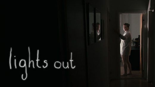 Luces fuera (Lights Out) cortometraje de terror de David F. Sandberg