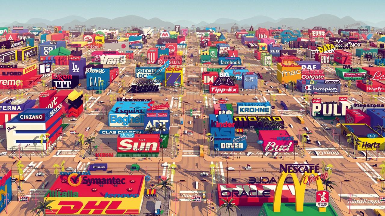 Logorama. Cortometraje de animación online en un mundo de logotipos