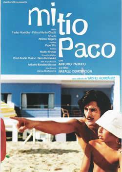 Mi tío Paco. Cortometraje cartel
