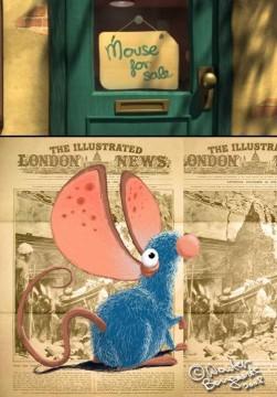 Ratón en venta cortometraje cartel poster