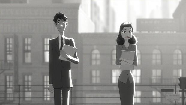 Paperman. Cortometraje de animación online dirigido por John Kars