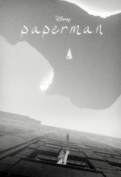 Paperman cortometraje cartel