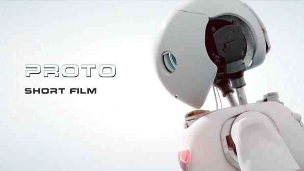 Proto. Cortometraje online de ciencia-ficción y robots de Nick Pittom