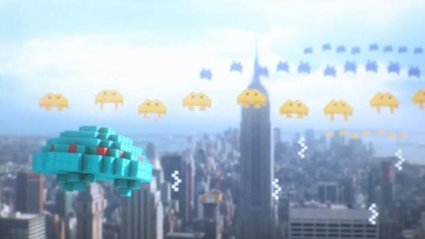 Pixels cortometraje animación