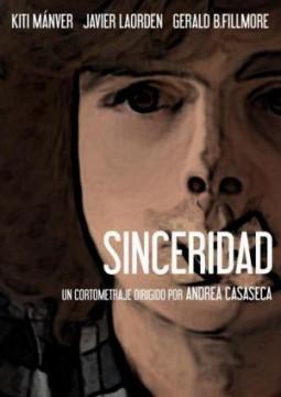 Sinceridad cortometraje cartel