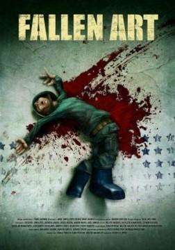 Fallen art cortometraje cartel poster