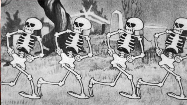 Silly Symphonies 01/75: El baile de los esqueletos/The Skeleton Dance