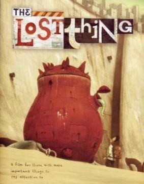The Lost Thing cortometraje cartel