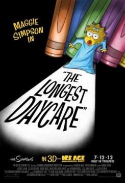 Maggie Simpson Un largo día de guardería cortometraje cartel