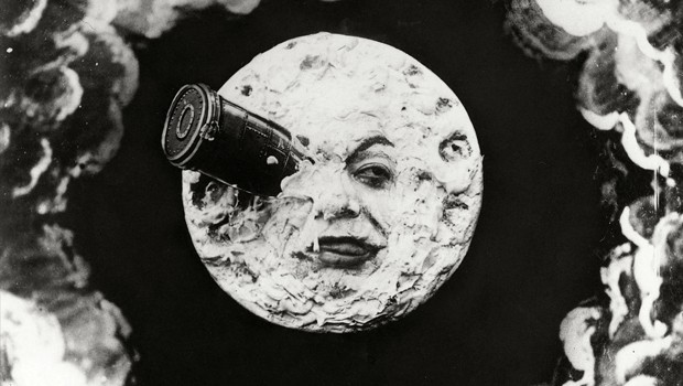 A trip to the moon - Viaje a la luna. Cortometraje George Méliès