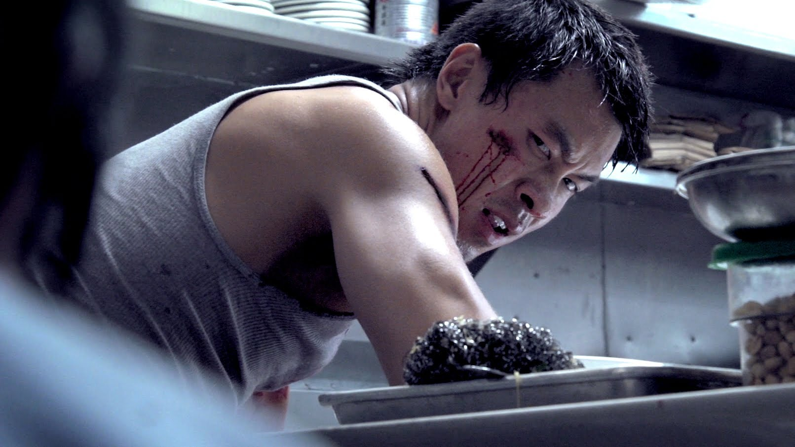 Live Action Sleeping Dogs Fight Film