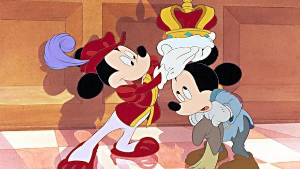 Mickey Mouse: el príncipe y el mendigo. Disney