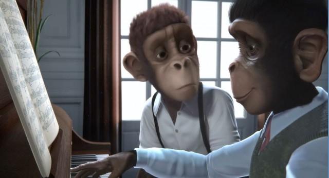 Monkey Symphonie. Cortometraje de animación
