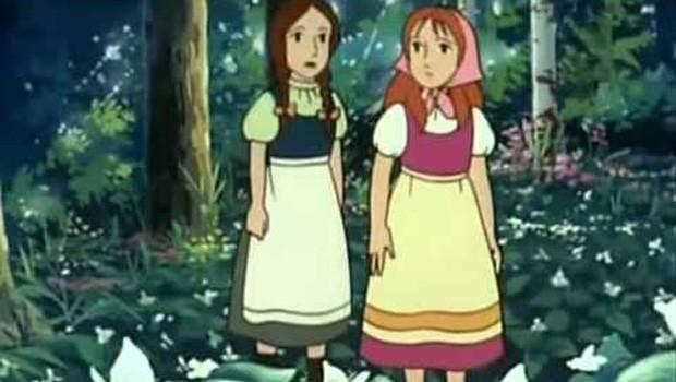 Los cuentos de los hermanos Grimm 09. Nieve blanca y Rosa roja