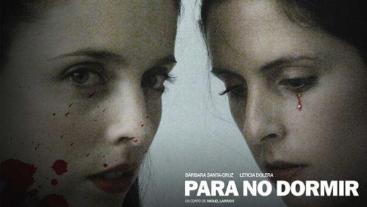 Para no dormir. Cortometraje español de Miguel Larraya