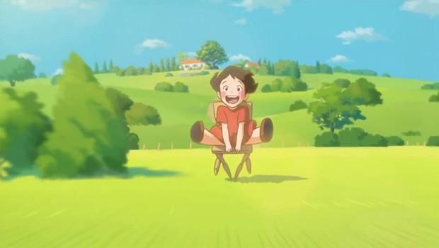 Paulettes Chair cortometraje japones