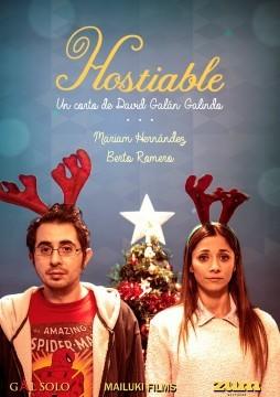 Hostiable cortometraje cartel poster